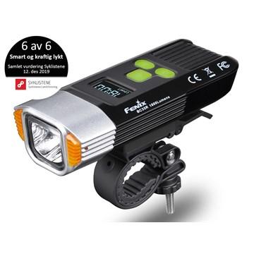 Fenix sykkellykt BC35R m/alarm
