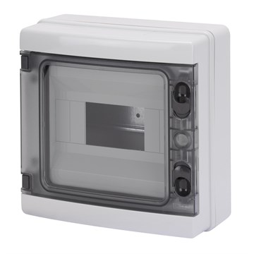 Gewiss kapsling 8-moduler 40CDK M/J+N skinne IP65 215x210x100 GW40102BS