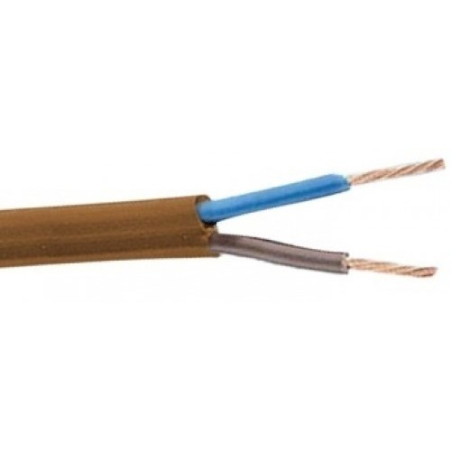 PL-kabel 2x0,75mm² Bronse