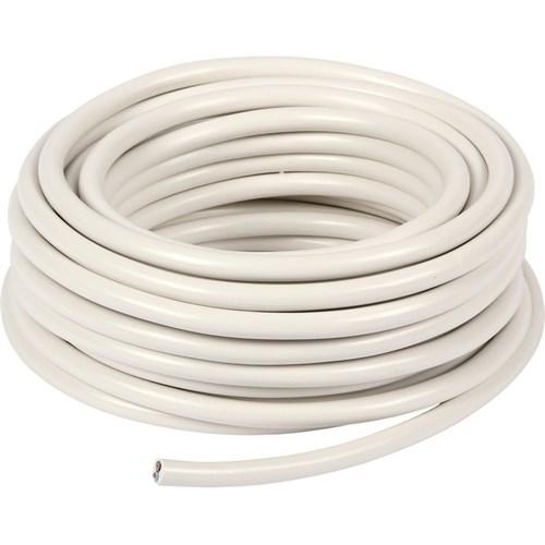 PMH-Kabel 2x0,75mm² Hvit