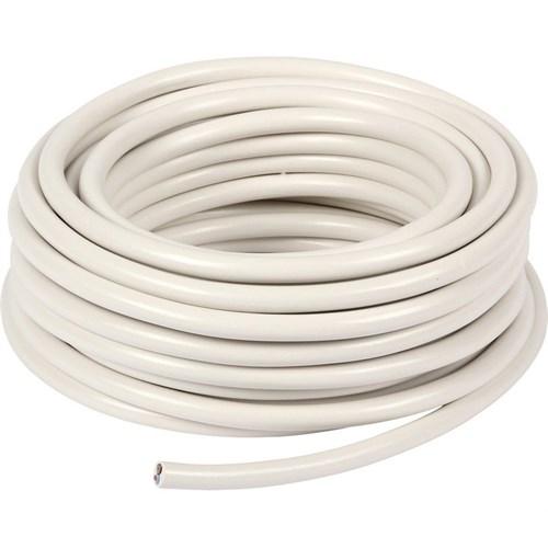 PMH-Kabel 2x1.0mm² Hvit