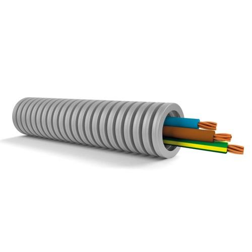Ferdigtrukket K-rør/PN 3G2,5mm² 100m