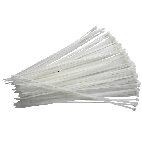 Buntebånd/Strips 302x4,8 Sort 100 pr.pakke