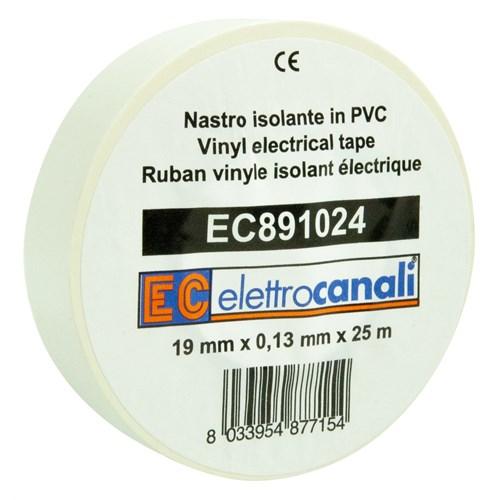 Elettrocanali El Tape 19mmx25M Hvit