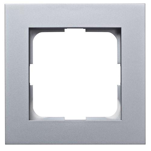 ELKO Plus kombinasjonsplate 1-hull Aluminium
