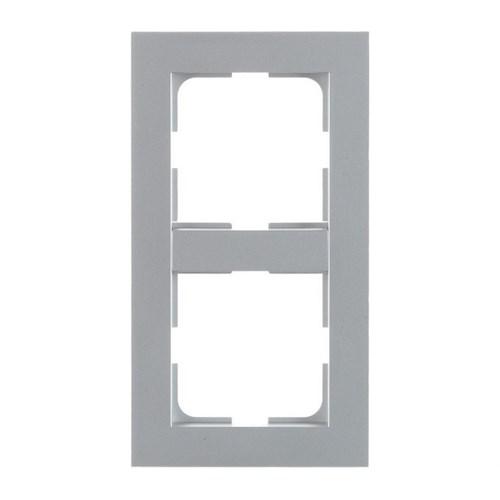 ELKO Plus kombinasjonsplate 2-hull Aluminium