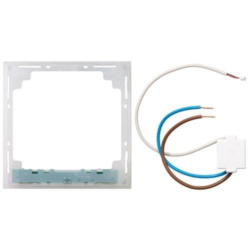 ELKO Plus lysramme m/hvitt lys 1-Hull