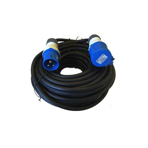 Skjøtekabel 216-6 3x2,5mm² H07RN-F IP44 230V/16A 10m