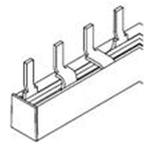 Samleskinne for Mini Element Automater 3P 1 meter