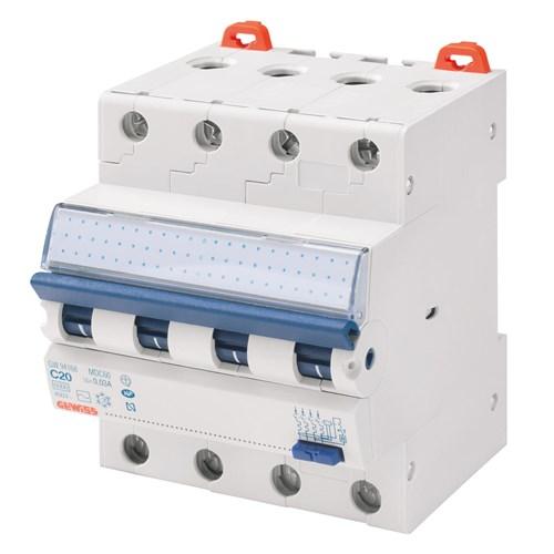Gewiss Jordfeilautomat 420C 20A 4-pol 4 mod C-karGW94368