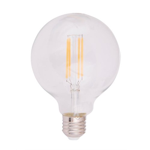 Scanlight LEDlyspære Globe Ø95mm 4W E27 klar dimbar
