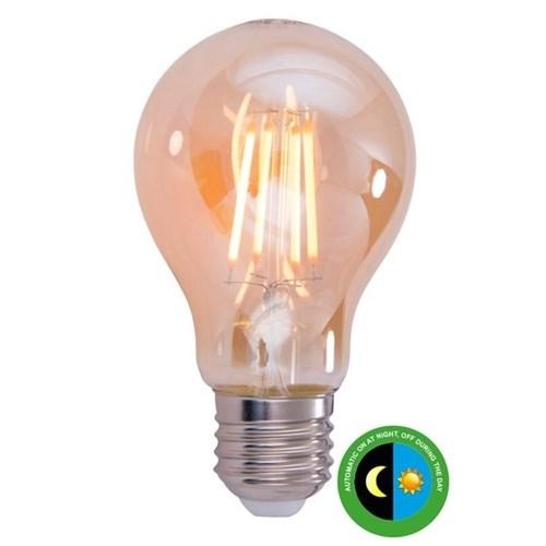 LEDpære Filament M/Sensor 4,5W E27 Amber