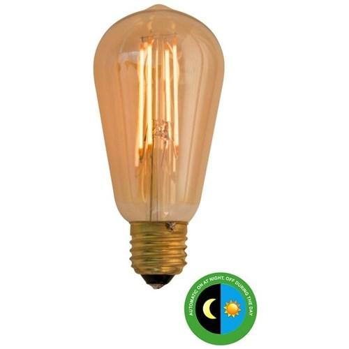 Scanlight LEDpære ST64 m/sensor filament 4,5W E27 Amber