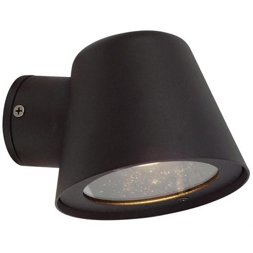 Risør utelampe vegg IP44 Sort