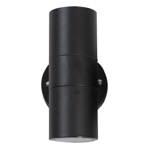 Asker utelampe Sort 2xGU10 IP44