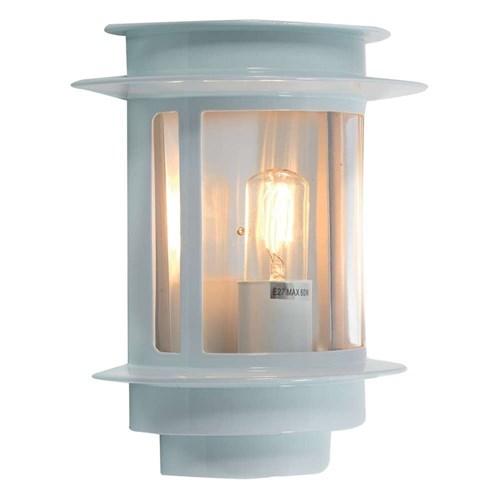 Mandal utelampe veggskjold Hvit IP44