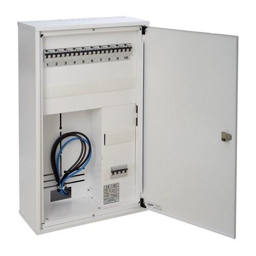 Sikringsskap ESK-P42K 2 rad 42 moduler
