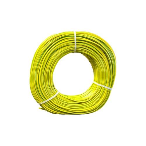 PVC strømpe 5mm Gul/Grønn