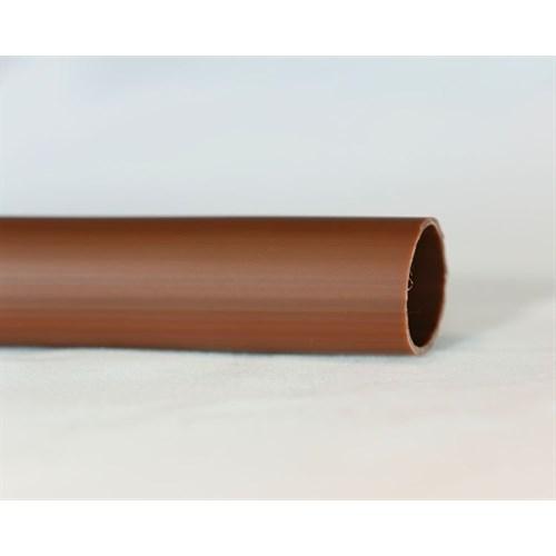 PVC strømpe 8mm brun