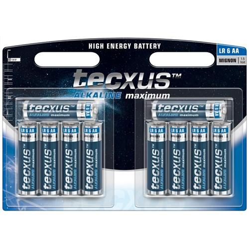 Tecxus alkaline LR6 AA 10pk
