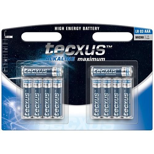 Tecxus alkaline LR03 AAA 10 pk