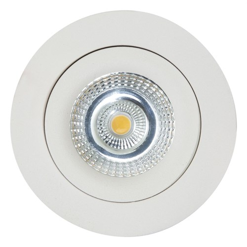 Sandy 230V LED-downlight 7W dimbar Hvit IP44