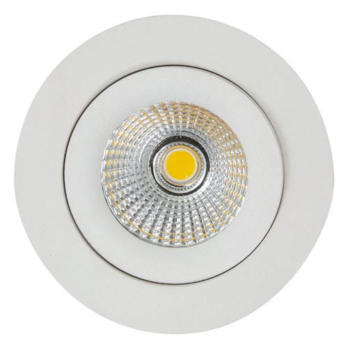 Sandy LED-downlight 7W dimbar IP44 Hvit