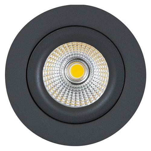 Sandy LED-downlight 7W dimbar IP44 Grå