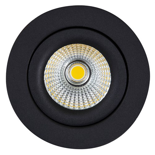 Sandy LED-downlight 7W dimbar IP44 Sort