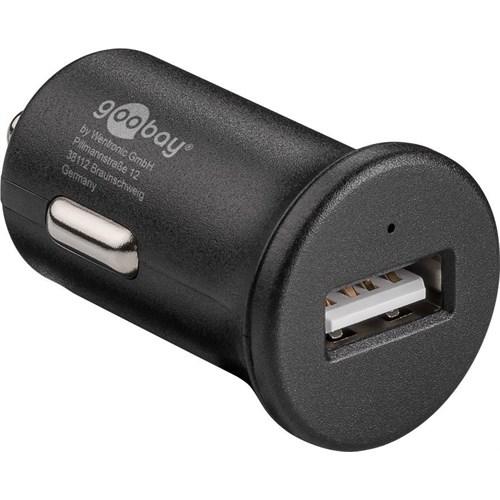 Goobay USB-lader for bil 1xUSB 2.4A QC3.0 Quick Charge