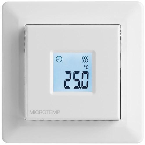 Termostat Microtemp MTC3 Hvit Digital