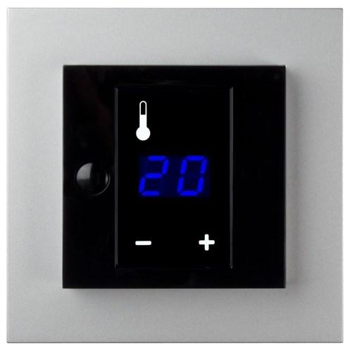 ELKO Plus Display termostat Aluminium