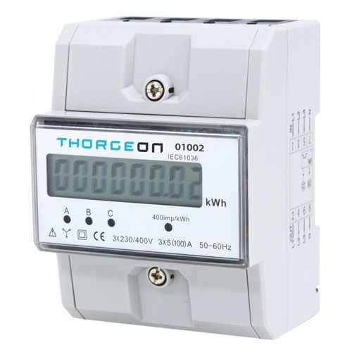 Thorgeon Seriemåler 3 fas 80A 230/400V