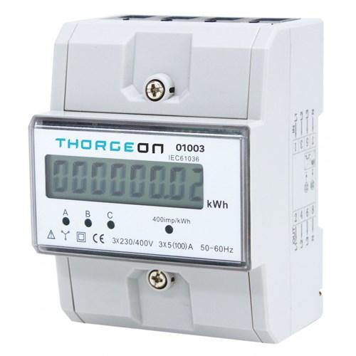 Thorgeon Seriemåler 3 fas 100A 230/400V