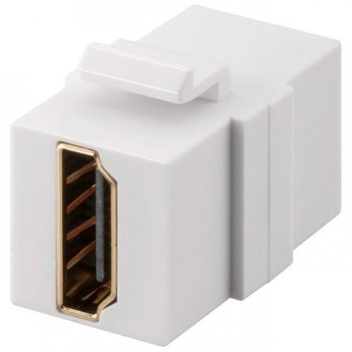Goobay Keystone-modul HDMI Hvit